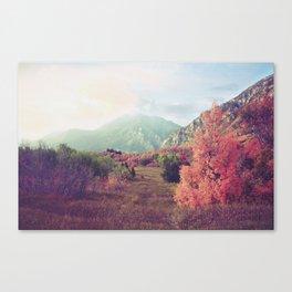 Timpanogos Fall Canvas Print