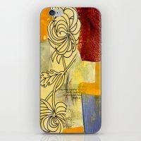 botanical iPhone & iPod Skins featuring Botanical  by Alexandra Sheldon
