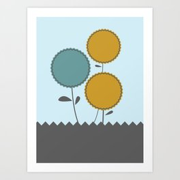 Country Flora Art Print