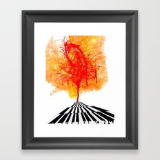That's What Keys Said Framed Art Print