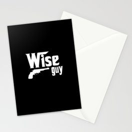 wise guy Stationery Cards