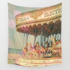 Circling Horses Wall Tapestry