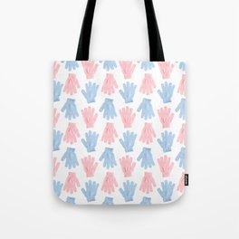 Household gloves pattern Tote Bag