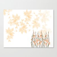 Flowers in Paradise Canvas Print