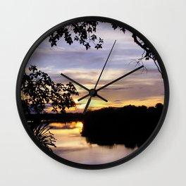 LAND OF MIRRORS Wall Clock