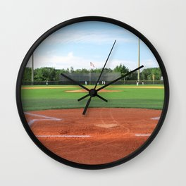 Play Ball! - Home Plate Wall Clock