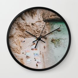 summer coast xi Wall Clock