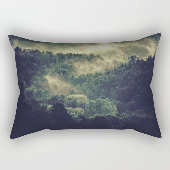 Journey Through The Dark Rectangular Pillow