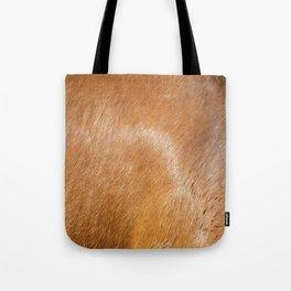 Horse Hide rustic decor Tote Bag