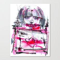 Fuck Machine Canvas Print