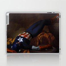 Death of Captain America Laptop & iPad Skin