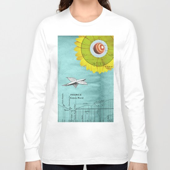 Spacecraft Long Sleeve T-shirt