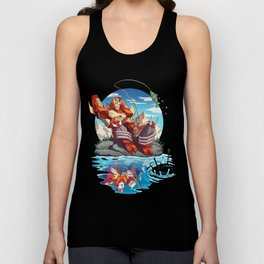 Fish are Jumping Today Unisex Tank Top