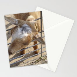 It really gets my goat when all those people stare at me Stationery Cards
