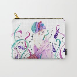 Flow Geisha on nature Carry-All Pouch