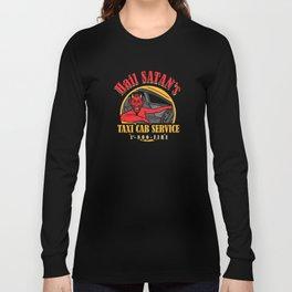 Hail Satan's Taxis Long Sleeve T-shirt