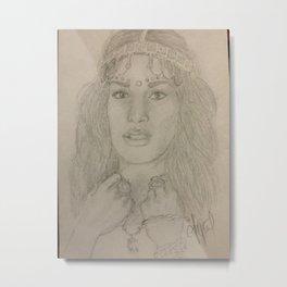 MIA Metal Print