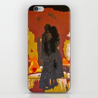 john mayer iPhone & iPod Skins featuring Slow Dancing in a Burning Room - John Mayer by Max Freund