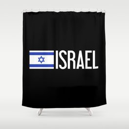 Israel: Israeli Flag & Israel Shower Curtain
