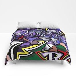 Go RAVENS! Comforters