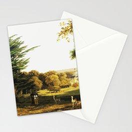 Tardis Stay Watch Alone Stationery Cards