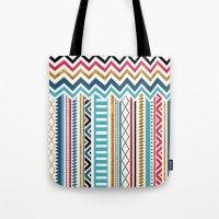 tribal Tote Bags featuring Tribal by Kakel