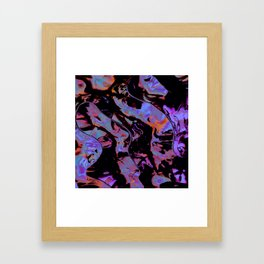 Dreams about to fade Framed Art Print