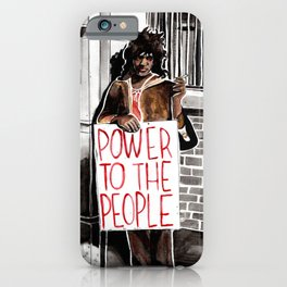 Marsha P. Johnson - POWER TO THE PEOPLE iPhone Case