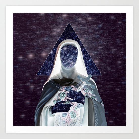 ♀ Holly Space Mother ♀ Art Print