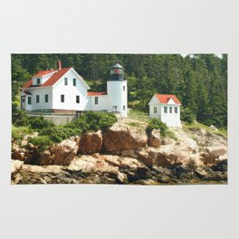 Bass Lighthouse photography Rug