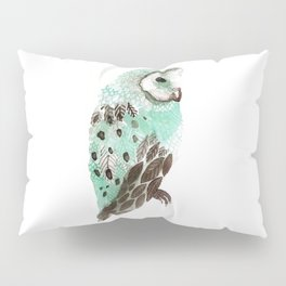 Watercolour Owl Pillow Sham