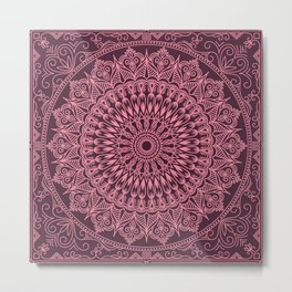 New Mandala 4 Metal Print