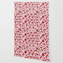 Santa Gift Pattern Wallpaper