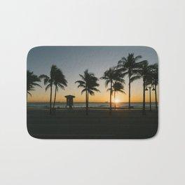Fort Lauderdale at sunrise Bath Mat