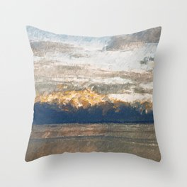 Yet another lake & mountain landscape | 2 Throw Pillow