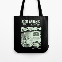 visit arrakis Tote Bag