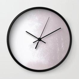 Misty Atmosphere Wall Clock