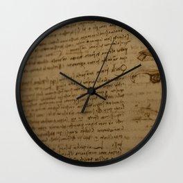 Da Vinci I Wall Clock