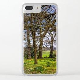 A Spring Walk Through Attingham Park, Shropshire, England Clear iPhone Case