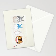 Make the Unlikeliest of Friends, Wherever You Go Stationery Cards