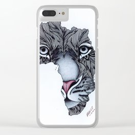 Africa's Heartbeat Clear iPhone Case