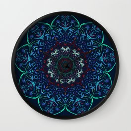 Izzy Resendez artwork Wall Clock
