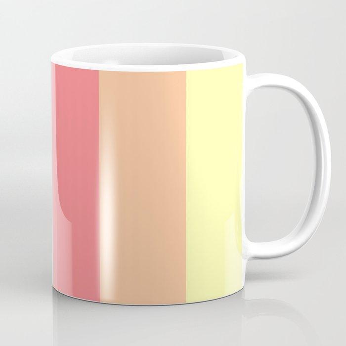Fun Stripes Wide Coffee Mug By Lovelylifestyle