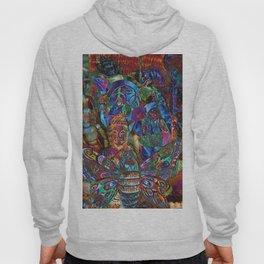 Psychedelic Buddha Hoody