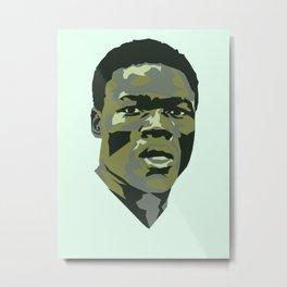 Mwepu Ilunga Metal Print