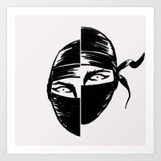 Ninja FAIL Art Print