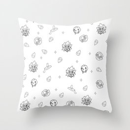A Ricktastic Universe Throw Pillow