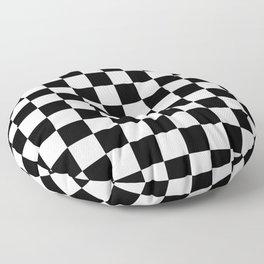 Checkered (Black & White Pattern) Floor Pillow