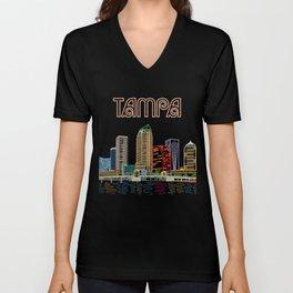 Tampa Circuit Unisex V-Neck