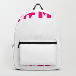 MeToo - me too movement for radical healing is happening and possible Backpack